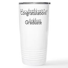 Congratulations Graduate Travel Mug