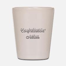 Congratulations Graduate Shot Glass