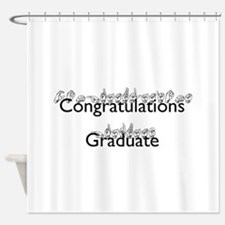 Congratulations Graduate Shower Curtain