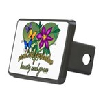 Butterflygrandmother.png Rectangular Hitch Cover