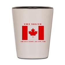 The North Shall Rise Again Canada Pride Shot Glass
