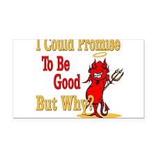 devilpromisetobegood copy.png Rectangle Car Magnet