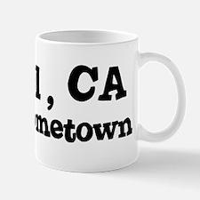 Hessel - hometown Mug