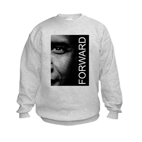 Obama Face Forward: Kids Sweatshirt