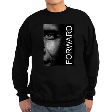 Obama Face Forward: Sweatshirt (dark)