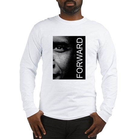 Obama Face Forward: Long Sleeve T-Shirt