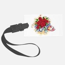 10x10_apparel floral roses copy.png Luggage Tag