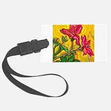10x10_apparel floral bright copy.jpg Luggage Tag