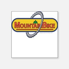10x10_apparel mountainbike copy.png Square Sticker