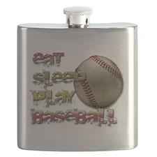 Eat sleep base Flask