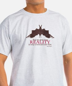 Alan Watts, Reality is a Rorscach Ink-Blot T-Shirt