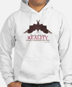 Alan Watts, Reality is a Rorscach Ink-Blot Hoodie