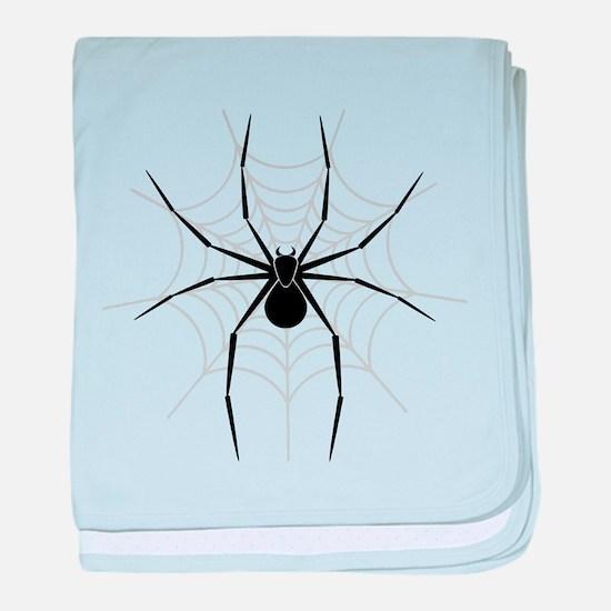 Spider Web baby blanket