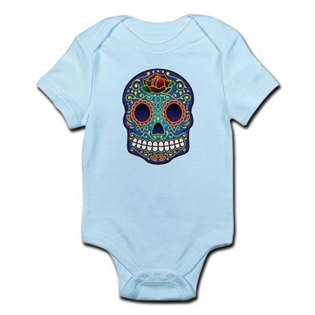 Sugar Skull Infant Bodysuit