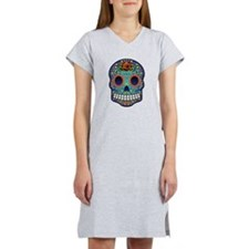 Sugar Skull Women's Nightshirt