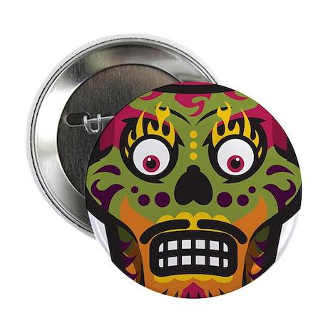 "Sugar Skull 2.25"" Button (100 pack)"