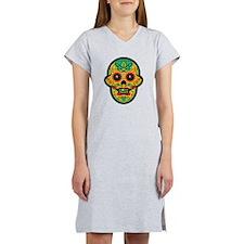 Sugar Skull Women's Nightshirt