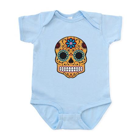 Sugar Skull Infant Bodysuit