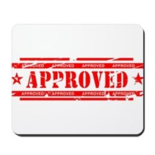 Approved Mousepad