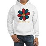 Smile and Let It Go Hooded Sweatshirt