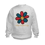 Smile and Let It Go Kids Sweatshirt