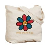 Smile and Let It Go Tote Bag