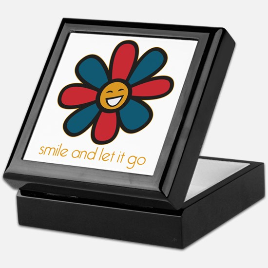 Smile and Let It Go Keepsake Box