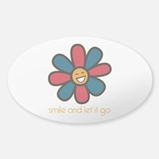 Smile and Let It Go Decal