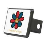 Smile and Let It Go Rectangular Hitch Cover