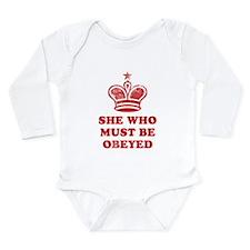 Cool Bad girls Long Sleeve Infant Bodysuit