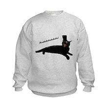 Evil villain cat Sweatshirt