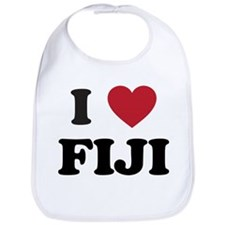 I Love Fiji Bib