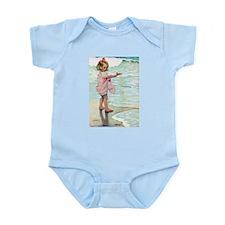 Child at the beach Infant Bodysuit