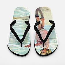 Child at the beach Flip Flops