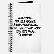 Awesome Quotes Hey Tommy Journal