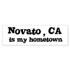 Novato - hometown Bumper Bumper Sticker