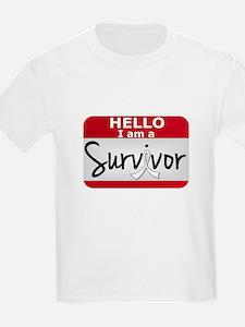 Bone Cancer Survivor 24 T-Shirt