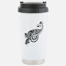 henna Stainless Steel Travel Mug