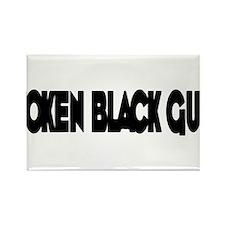Token Black Guy Rectangle Magnet (10 pack)