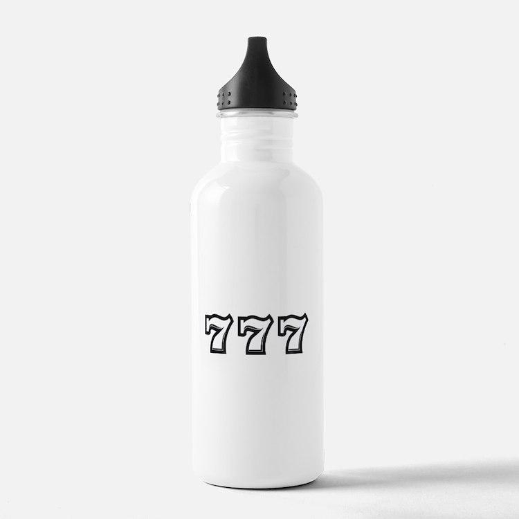 Triple 7s Water Bottle