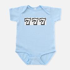 Triple 7s Infant Bodysuit