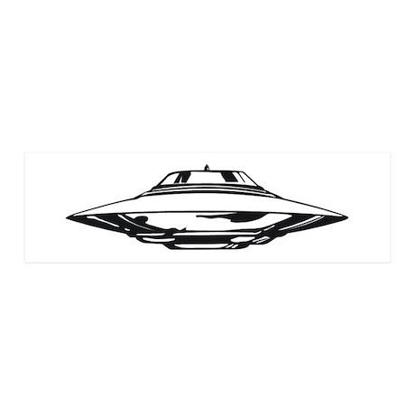 UFO 36x11 Wall Decal