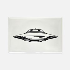 UFO Rectangle Magnet (10 pack)