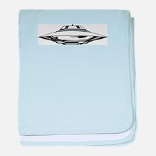UFO baby blanket