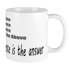 Violence is the Answer Mug