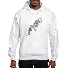 henna Hoodie Sweatshirt
