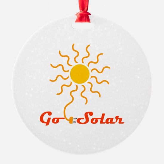 Go Solar Ornament