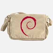 Debian swirl Messenger Bag
