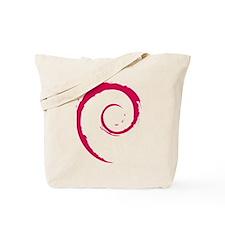 Debian swirl Tote Bag