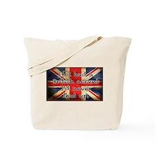 British Accent Tote Bag